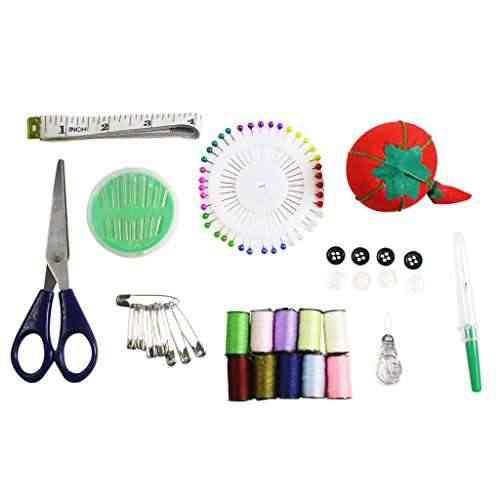 Set de costura para principiantes con alfileres y estuche de agujas por curtzy tm m quina de coser - Set de costura ...